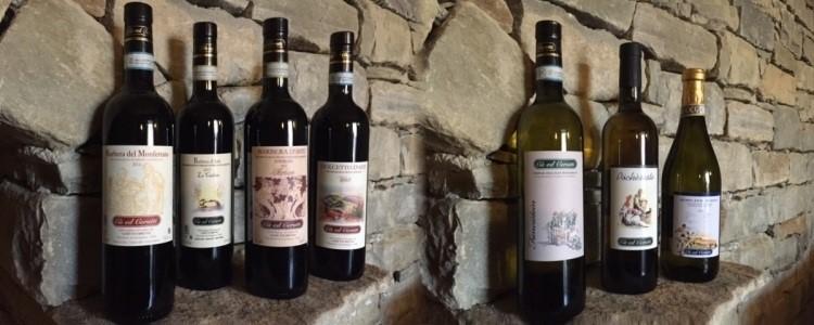 Produzione vino Cantina Cerutti a Cassinasco, Asti