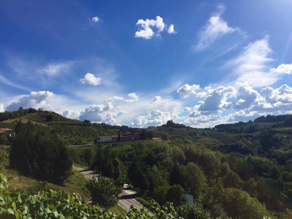 """Panorama dalla cima della collina """"Bric d'Udon"""""""